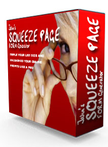 Squeeze Page Generator